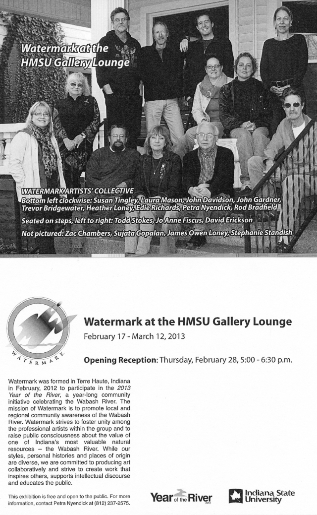 Watermark at the HMSU Gallery Lounge