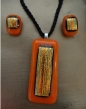 Example of Fused Glass artwork by Edith Acton of Terre Haute