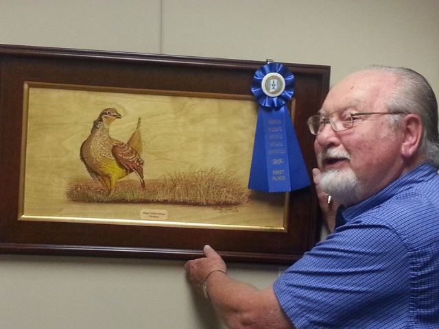 Monty Jones First Place in Mixed Media & Other category