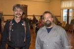 People's Choice winner Mike Bender; Artist's Choice winner, Todd Stokes