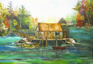 Fisherman's Hideaway by Della Bender