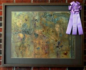Artist's Choice Award: Goddess Within, Mixed Media by Ruthann Brady