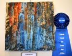 First Place, Mixed Media: Forest Fusion by Ruthann Brady