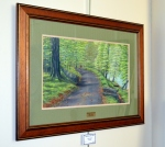 Second Place, Painting: Hawthorn Park Trail by Monty Jones