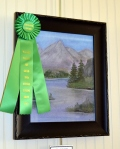 Drawing, Honorable Mention: Mountain Lake by Peggy Summers