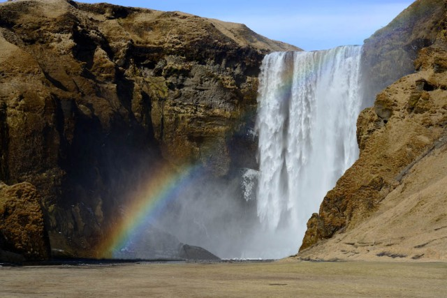 Skogafoss in Iceland by Spencder Young
