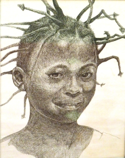 Nigerian Girl by Don Turner