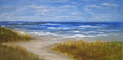 Indiana Dunes, oil painting by Judith Lynn Smith