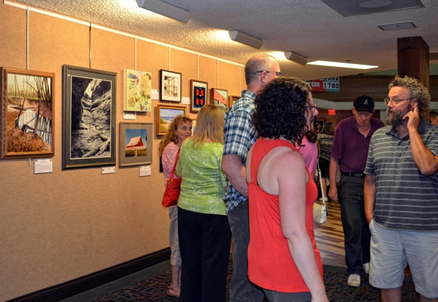 VCPL opening reception July 1, 2016