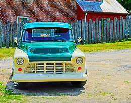 Old Truck, Photography by Valerie Funk
