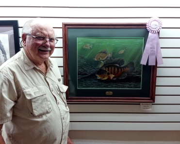 The Pumpkinseed, Most Popular Award, by Monty Jones