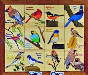 Song Birds by Deborah Anderson
