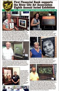 First Financial Bank highlights RCAA 8th Annual Juried Exhibition in Tribune-Star Valley Viewer
