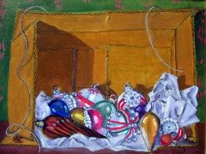 Antique Ornaments by Michael Elmore