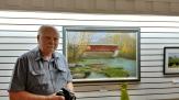 Monty Jones with The Rolling Stone Bridge (in Putnam County)