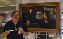 Third Place in Painting: Steve Harrold