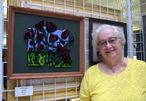 Second Place in Mixed Media: Edith Acton