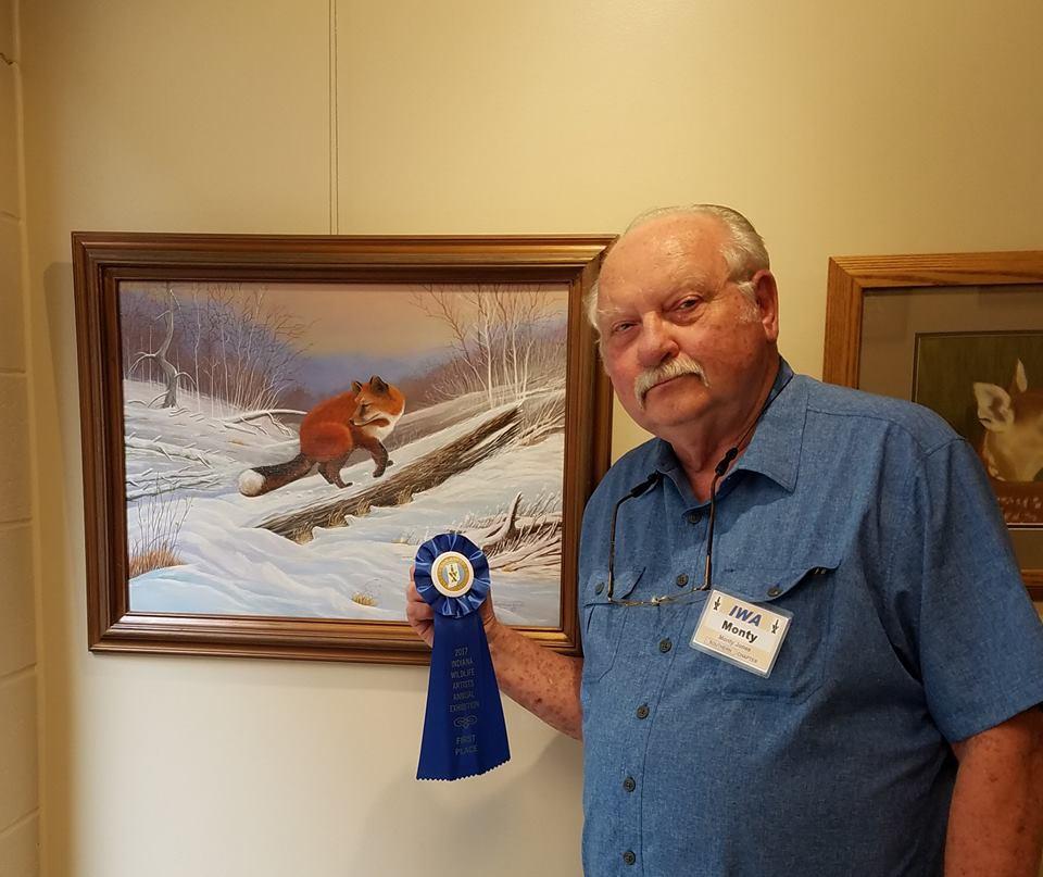 monty jones Indiana Wildlife Artist