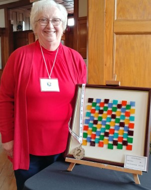 Colorful Squares-2nd Place-Edith Acton