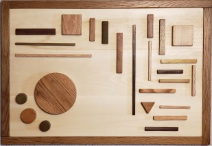 Balance and Contrast-intarsia by Rod Funk