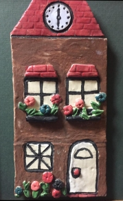 Country Cottage-clay design by Richard Acton